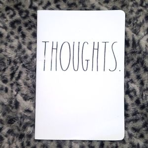 Rae Dunn Thoughts Notebook